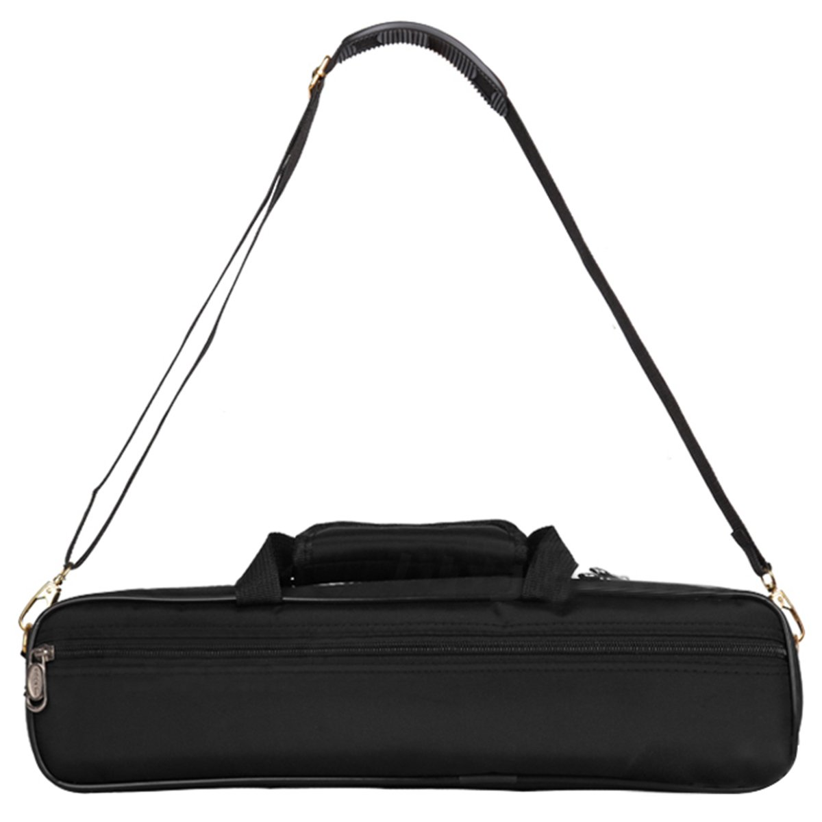Tosnail Water-resistant Gig Flute Bag with Side Pocket & Adjustable Single Shoulder Strap - 10mm Cotton Padded - Great Bag for Concert Flute T-FluteBag