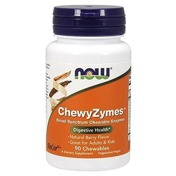 Amazon.com: AHORA Suplementos, ChewyZymes, Enzimas ...