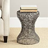 Minimalistic Coffee Table, Iron Material, No Assembly, Round Shape, Lightweight For Easy Transportation, Ideal For Indoor Spaces, Stylish And Modern Design, Sturdy And Durable Construction & E-Book