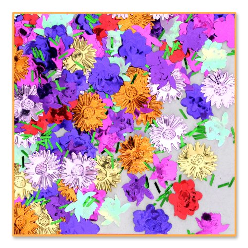 Flower Garden Confetti (Pack of 96) by Beistle