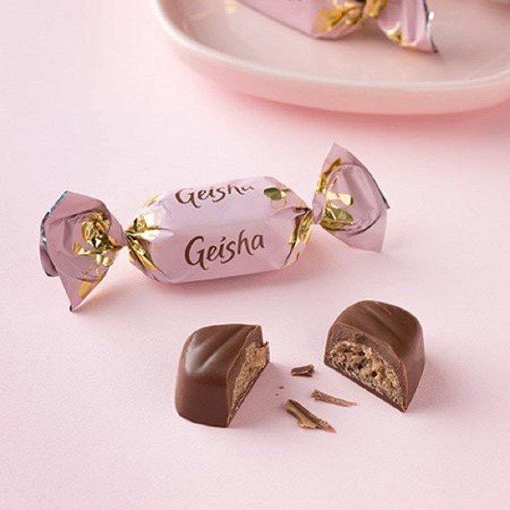 Amazon.com : 6 Boxes x 350g of Fazer Geisha - Milk Chocolate ...