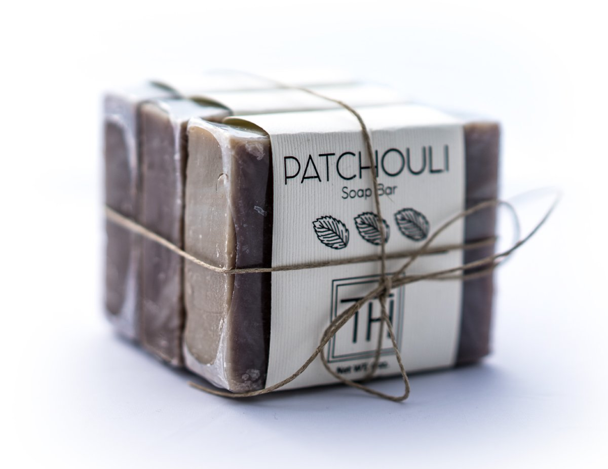 Handmade Gentle Facial and Body Soap (Patchouli)