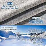 Elegear 51''x67'' Cooling Throw Blanket for