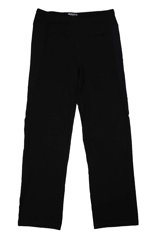 Ideology Womens Slimming Knit Yoga Pants Black XS