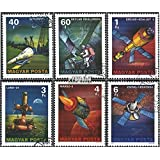 Hungary 3214A-3219A (Complete.Issue.) 1977 Space Exploration (Stamps for Collectors) Space