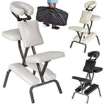 TecTake Silla de masaje fisioterapia rehabilitacion sillón de tratamiento tattoo - disponible en diferentes colores -