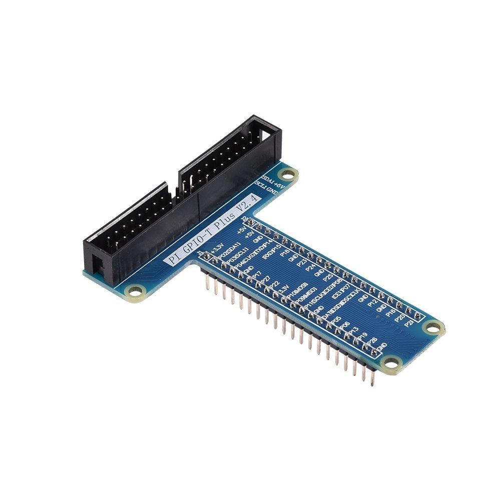 Amazon.com: fosa 40pins GPIO Extension Module Board Adapter for Raspberry Pi 3 Pi 2 Pi Model B+ T Type Expansion Board: Electronics