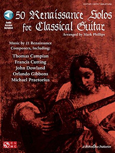Free 50 Renaissance Solos for Classical Guitar