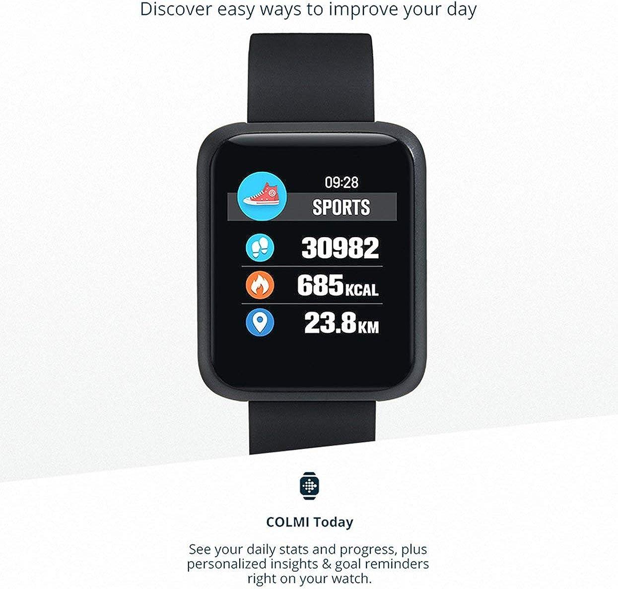 Colmi Sport3 Reloj Inteligente Hombres presión Arterial IP68 ...