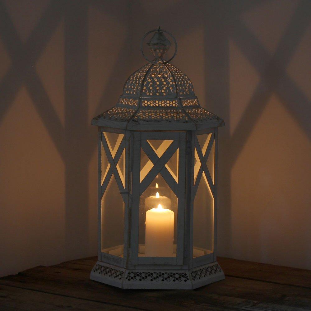 albena shop 74-100 Mudi Oriental lanterne m/étal//verre L = 46cm