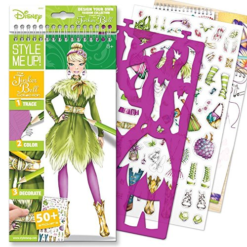 Style Me Up! The Tinker Bell Collection Small Sketchbook (English) -