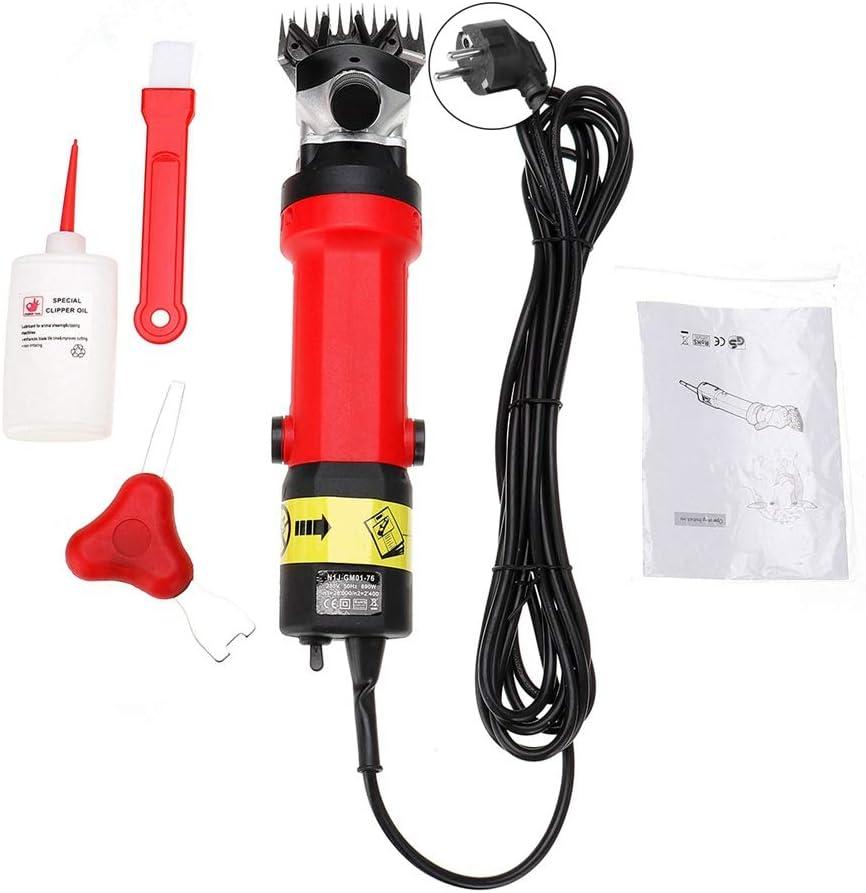 UE 690W 2400r//min Tondeuses de Toilettage pour Animaux /électriques Portables Professionnels Tondeuse /à Cheveux /électrique pour Animaux de Ferme pour Alpagas Animaux pelage /épais Cisailles /à Moutons