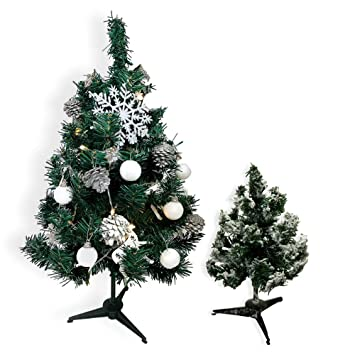 Image Unavailable - Amazon.com: BANBERRY DESIGNS Small Christmas Tree - Tabletop Size
