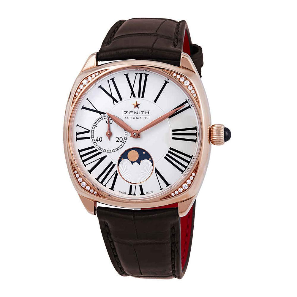 Zenith Heritage Star Moonphase Ladies 18kt Rose Gold - 22.1925.692/01.C725