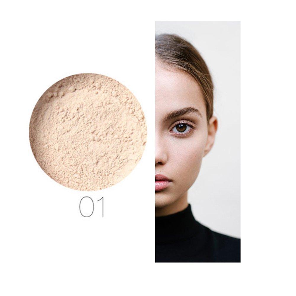 Loose Powder 24 Stunden Dauerhaftes Anti Sweat Oil Ql Eyebrow Cream 15gr Control Breathable Makeup Pulver 1 Elfenbein Wei Beauty