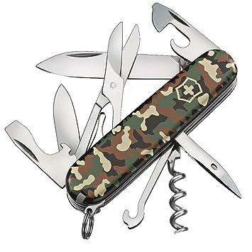 Etui Tafelmesser u Messersch/ärfer Victorinox Taschenmesser Camping Edition Huntsman