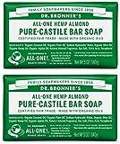 Dr. Bronners Almond Bar Soap 5oz.