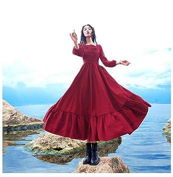 ZBYHCH Señoras Elegante Floral Playa Falda Vestido de Verano ...