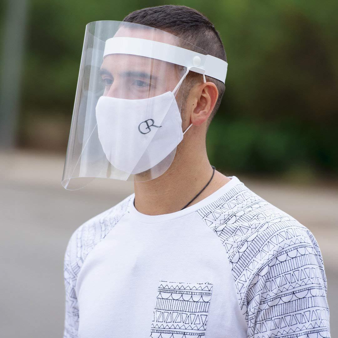 /Écran de protection du visage rabattable visage anti-/éclaboussures femmes et hommes. Visi/ère pour les yeux