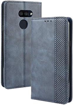 LAGUI Compatible para Funda LG K40S, Carcasa Tipo Libro Protector Magnético y Plegable de PU Soporte de Ranuras para Tarjetas, Azul: Amazon.es: Electrónica