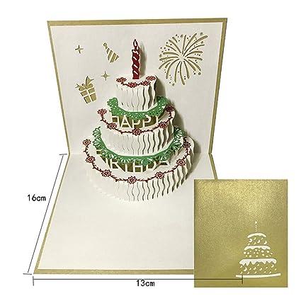 Tarjeta de feliz cumpleaños para su mamá y su esposa, 3 ...