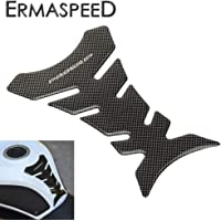 ETbotu Motorcycle Tank Pad Protector Sticker Decal Tank Traction Pad with 3M Fit for Motorbike Kawasaki ER-6N 06-15