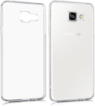 REY Funda Carcasa Gel Transparente para Samsung Galaxy A3 2016, Ultra Fina 0,33mm, Silicona TPU de Alta Resistencia y Flexibilidad: Amazon.es: Electrónica