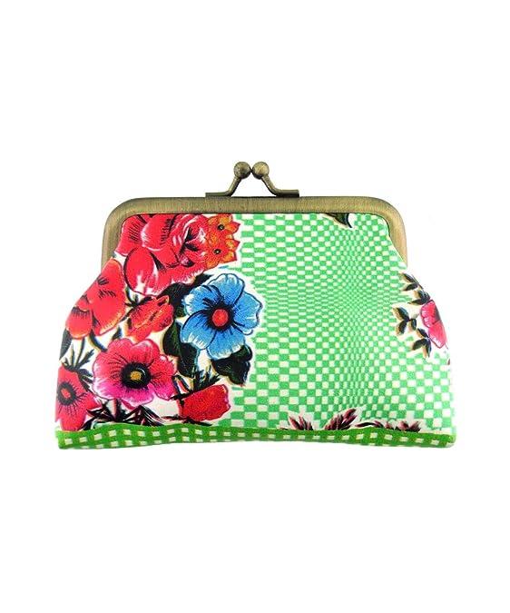 Amazon.com: Monedero mexicano de Mlavi con diseño floral ...