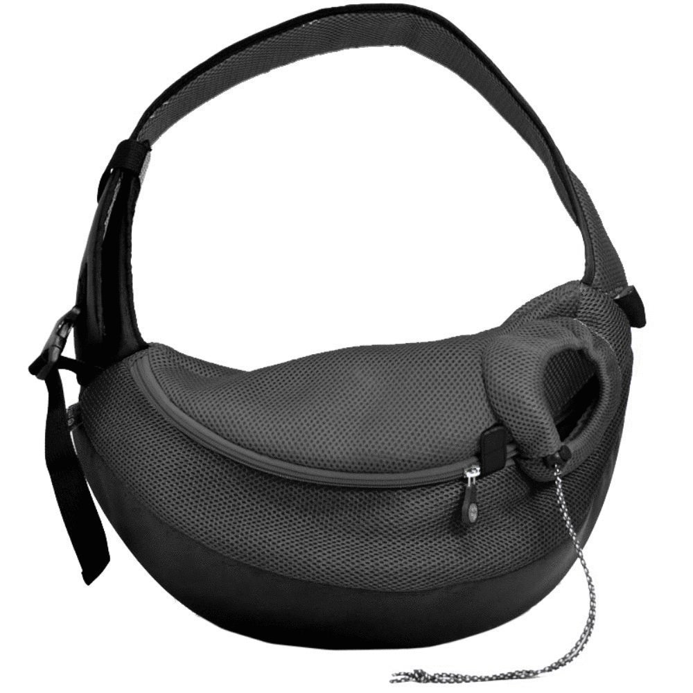 Crazy Paws Pet Sling Large Black by Crazy Paws