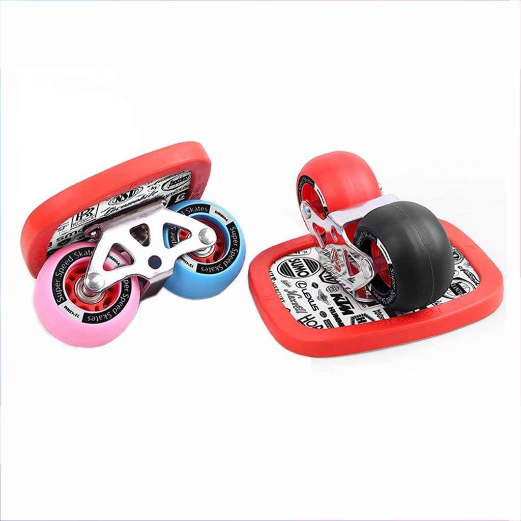 CWYPC D/érive Skateboard Freeline Drift Skates Panneau Roue dunit/é Centrale Roulement Haut de Gamme Enfant Portable Sports de Plein Air pour Adultes