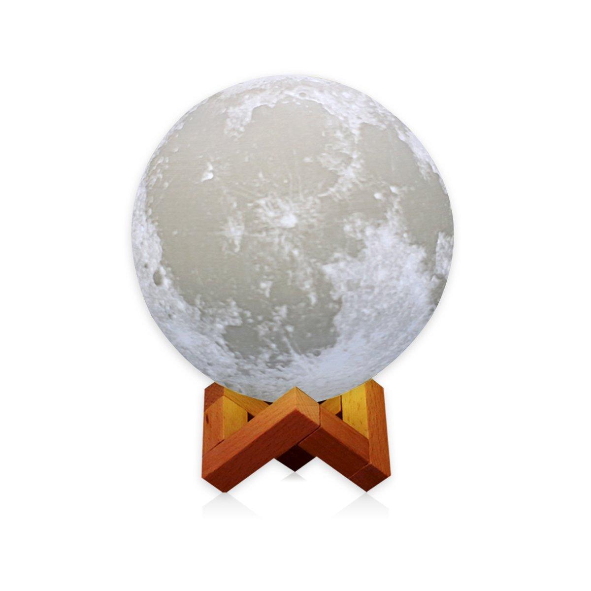 AMZLIFE 7.1'' Large Moon Light