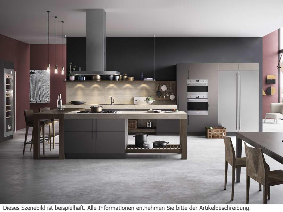 Side By Side Kühlschrank Vollintegriert : Smeg einbau side by side kühl gefrierkombination edelstahl