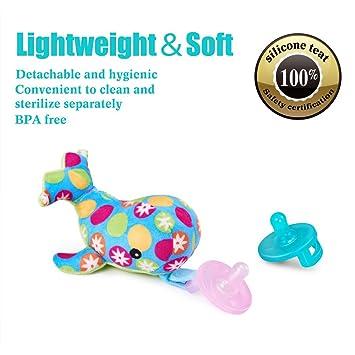 Amazon.com: Chupete de ballena para bebé, juguete de ...