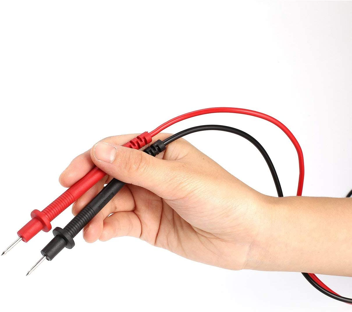 Tree-on-Life Digital Multimeter Universal Probe Test Leads Cable Pin Needle Tip Multi Meter Tester Wire Test Pen 2A//1000V CATⅡ 1 Pair