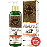 Morpheme Remedies Pure ColdPressed Organic Virgin Coconut Oil For Hair & Skin - 120ml