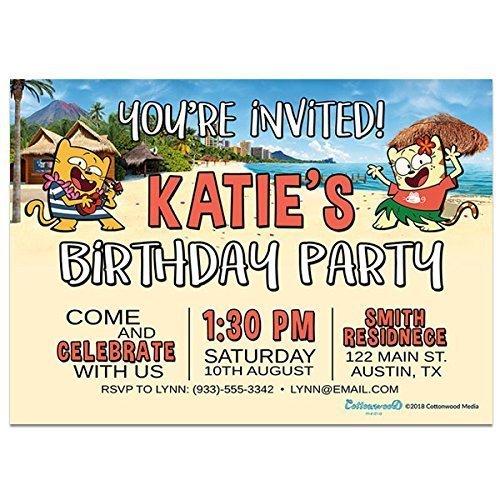 amazon com hawaii destination ollie and moon birthday party