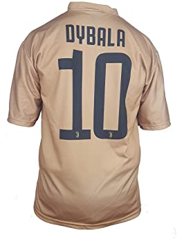 Segunda Camiseta Jersey Futbol Juventus Dybala Replica Oficial Autorizado 2018-2019 Niños (2,