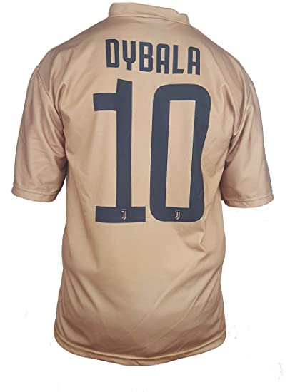 Segunda Camiseta Jersey Futbol Juventus Dybala Replica Oficial ...