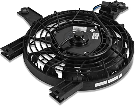 TO3113105 OE Style AC Condenser Cooling Fan Assembly Replacement for Toyota Corolla Geo Prizm 93-97