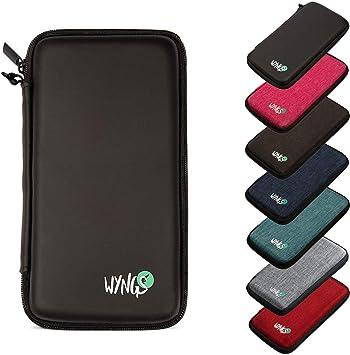 WYNGS Protective Case for Texas Instruments TI-30XS Multiview/TI-34 Multiview/TI-36X Pro/Casio FX-991EX / Numworks Scientific Calculator, Black