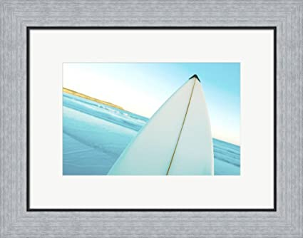 Amazon.com: Close-up of a surfboard, Fishery Bay, Australia Framed ...