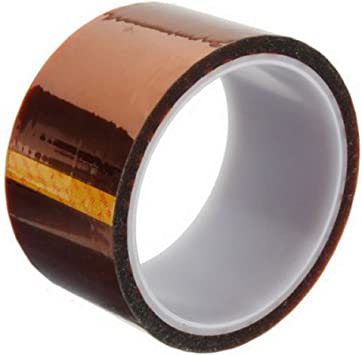5//10//20//30//50mm x 33M High Temperature Heat Resistant Insulation Tape Polyimide