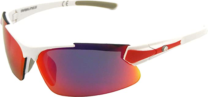 b9479a05bad2 Amazon.com: Rawlings Youth Ry107 Sunglasses Black Green: Sports & Outdoors