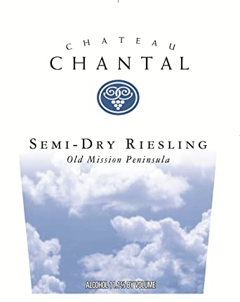 Chateau Chantal Semi Dry Riesling 750 ML At Amazons Wine Store