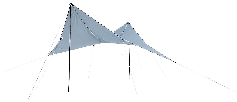 10T Arona Tarp 4x4 m Sonnensegel mit UV50+ Sonnenschutz Outdoor Camping Sonnendach Outdoor Sonnenschutz Markise mit Aufstellstangen Abspannleinen Heringe, wasserdicht mit 2000mm Wassersäule 4a3d86