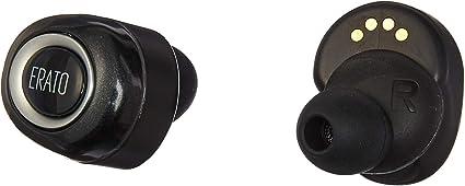 Erato Muse 5 écouteur Binaural sans Fil Noir Casque et Micro Casques et micros (sans Fil, écouteur, Binaural, Intra aural, Noir)