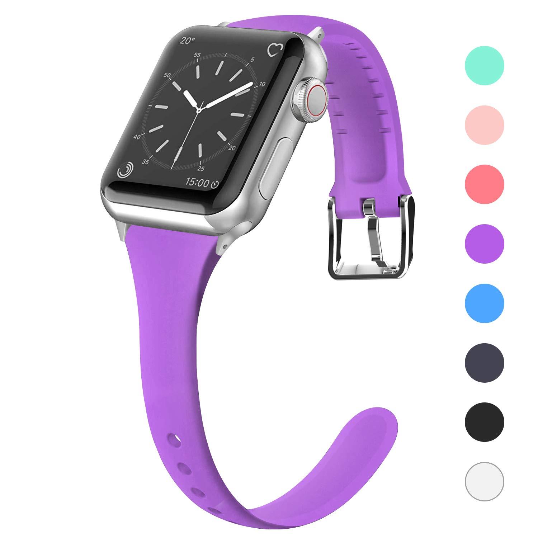 Malla Silicona para Apple Watch (42/44mm) LWSENGME [SQ6GMD]