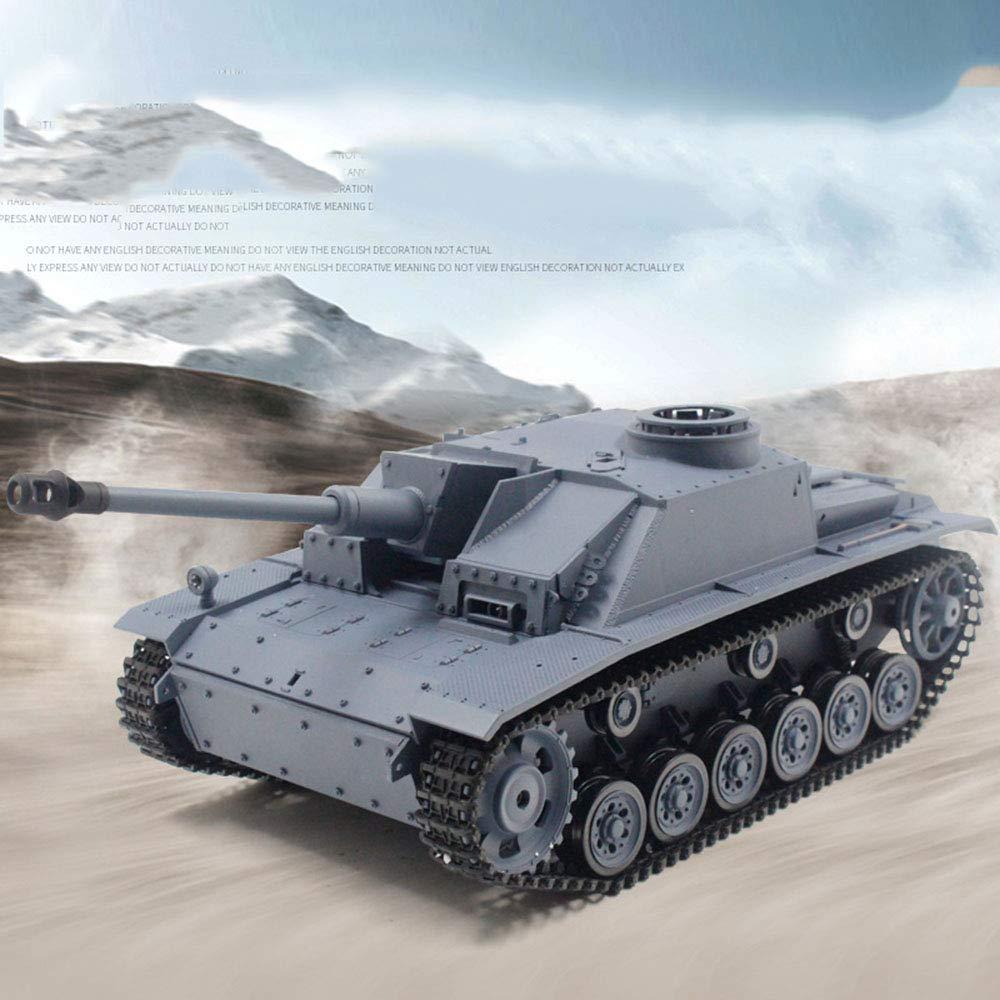 Amazon com: LoMe Remote Control Tank, 2 4G Toy Tank 1:16