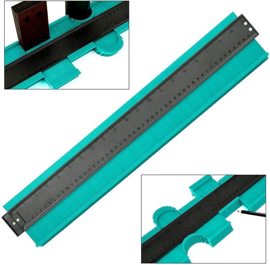 kioski Mise /à Niveau /élargie 20 Pouces Outil de Copie de jauge de Profil irr/égulier de jauge de Contour duplicateur de Forme