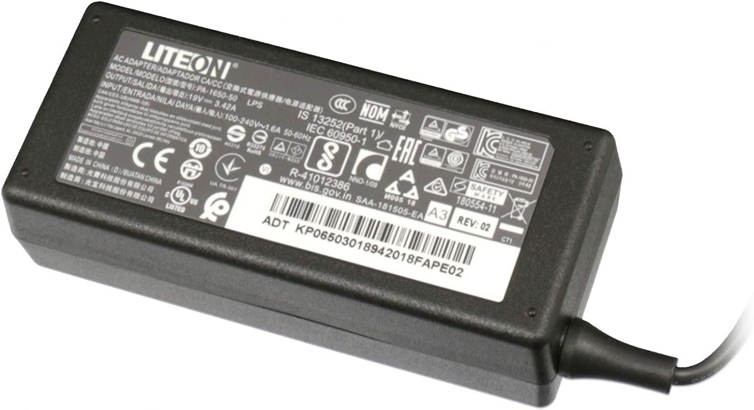 Acer AC Adapter 65W 19V LF, KP.0650H.006